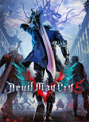 Devil May Cry 5 2019 game poster download