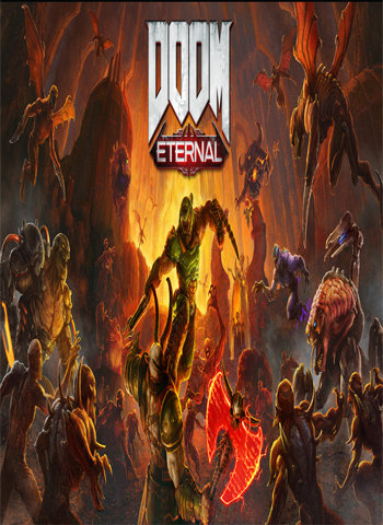 Doom Eternal 2019 game poster download