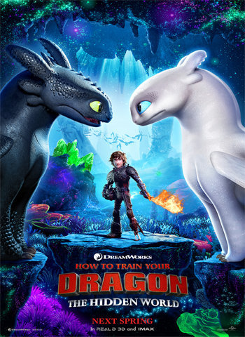 How to Train Your Dragon 2019 movie poster download