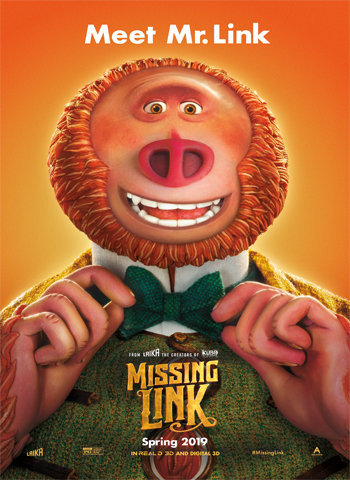 Missing Link 2019 movie poster download