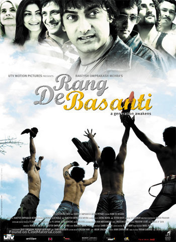 Rang De Basanti 2006 movie poster download