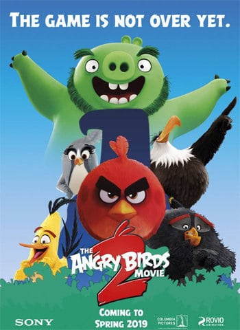 The Angry Birds Movie 2 2019 movie poster download