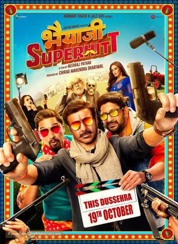 Bhaiaji Superhit 2018 movie poster download