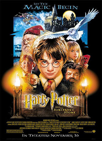 Harry Potter 2001 movie poster download