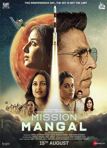 Mission Mangal 2019 movie poster dowload
