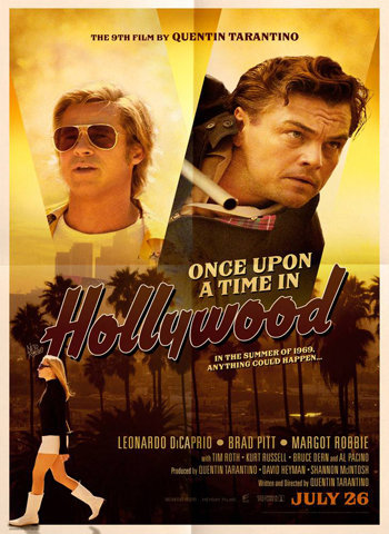 Once Upon a Time in Hollywood 2019 movie poster download