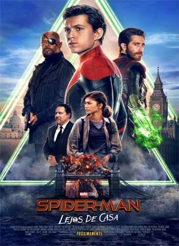 Spider Man Far from Home 2019 movie poster download