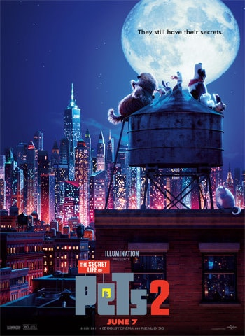 The Secret Life of Pets 2 2019 movie poster download