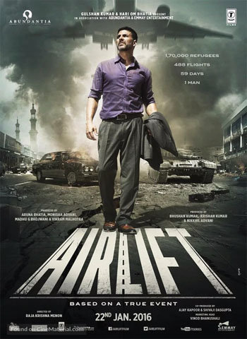 Airlift 2016 movie poster download