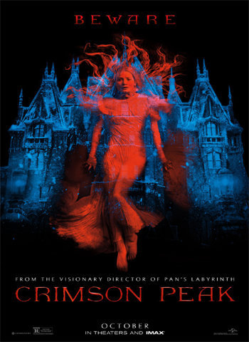Crimson Peak 2015 movie poster download