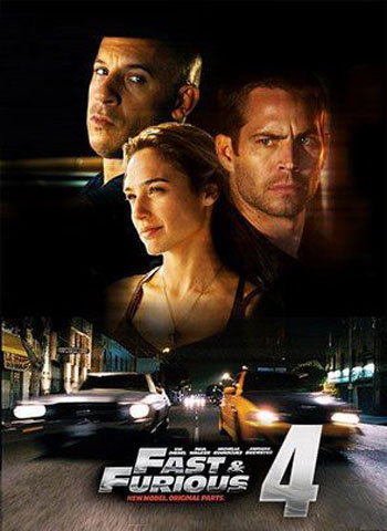 Fast And Furious 4 2009 movie poster download