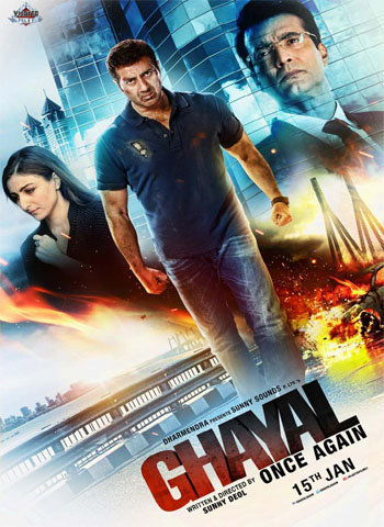Ghayal Once Again 2016 movie poster download