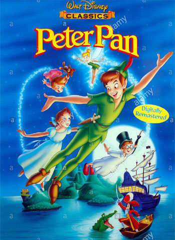 Peter Pan 1953 movie poster download