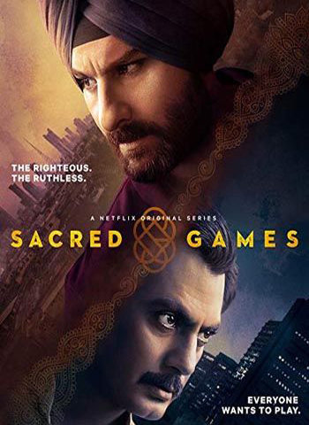Sacred Games 2018 show poster download