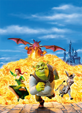 Shrek 2001 movie poster download