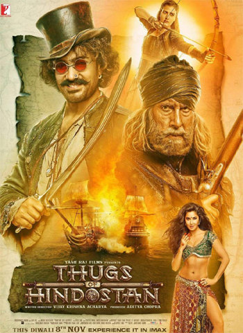 Thugs Of Hindostan 2018 movie poster download