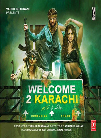 Welcome To Karachi 2015 movie poster download