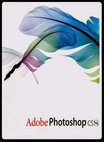 Adobe Photoshop 8 software poster download