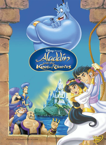 Aladdin and the King of Thieves 1996 movie poster download