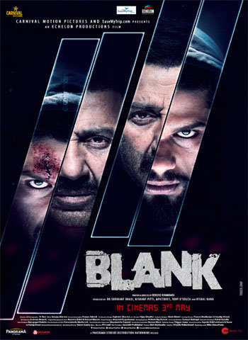 Blank 2019 movie poster download
