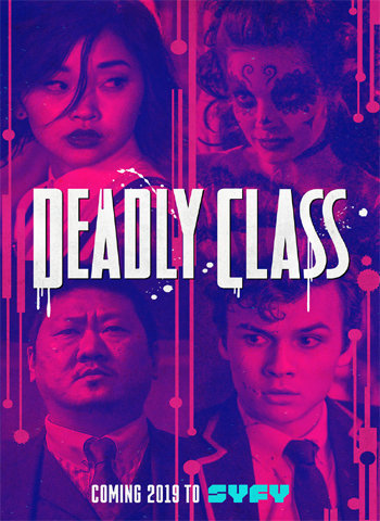 Deadly Class 2019 show poster download