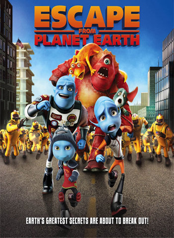 Escape from Planet Earth 2013 movie poster download