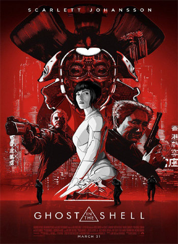 Ghost in the Shell 2017 movie poster download