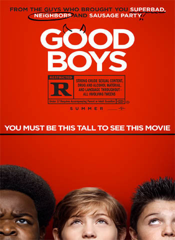 Good Boys 2019 movie poster download