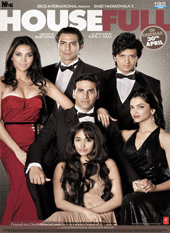 Housefull 2010 movie poster download