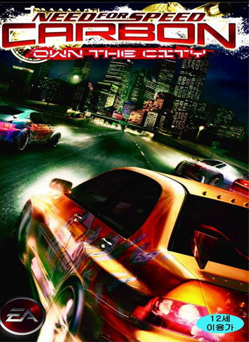 Need for Speed Carbon 2006 game poster download