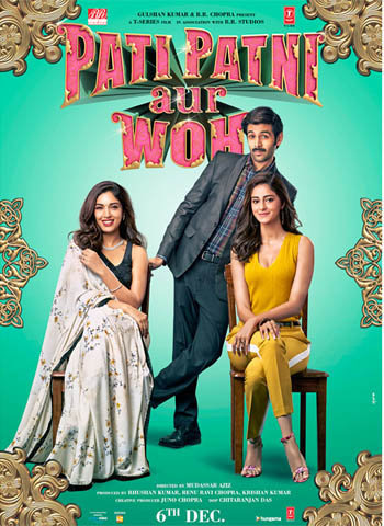 Pati Patni Aur Woh 2019 movie poster download