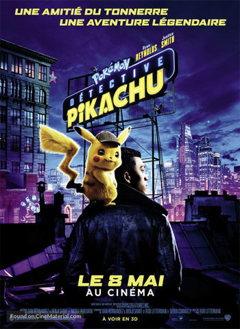 Pokémon Detective Pikachu 2019 movie poster download