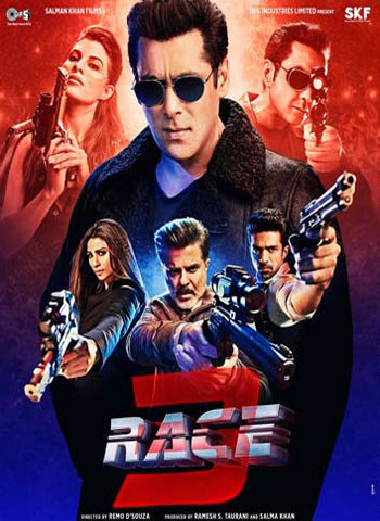 Race 3 2018 Movie poster