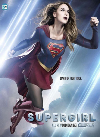 Supergirl 2015 tv show poster download