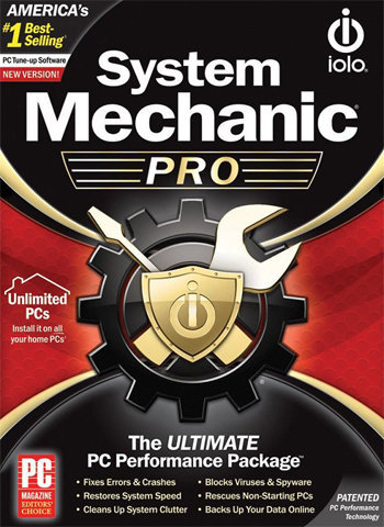 System Mechanic Pro software poster download