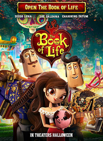 The Book of Life 2014 movie poster download