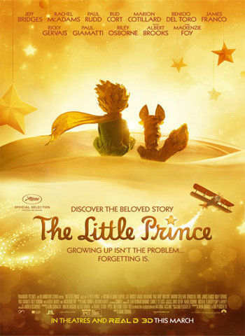 The Little Prince 2015 movie poster download