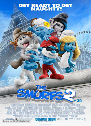The Smurfs 2 2013 movie poster donwload