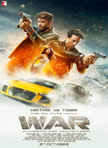 War 2019 movie poster download